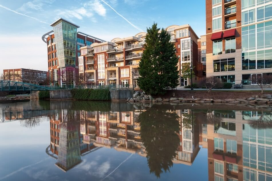 Greenville South Carolina Downtown Revitalization