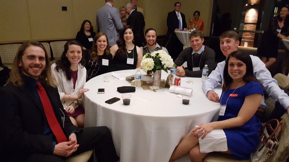 Engenius team at a gala