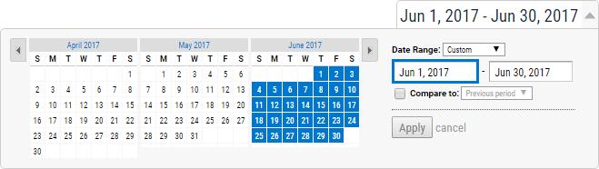 Industry Benchmark Calendar