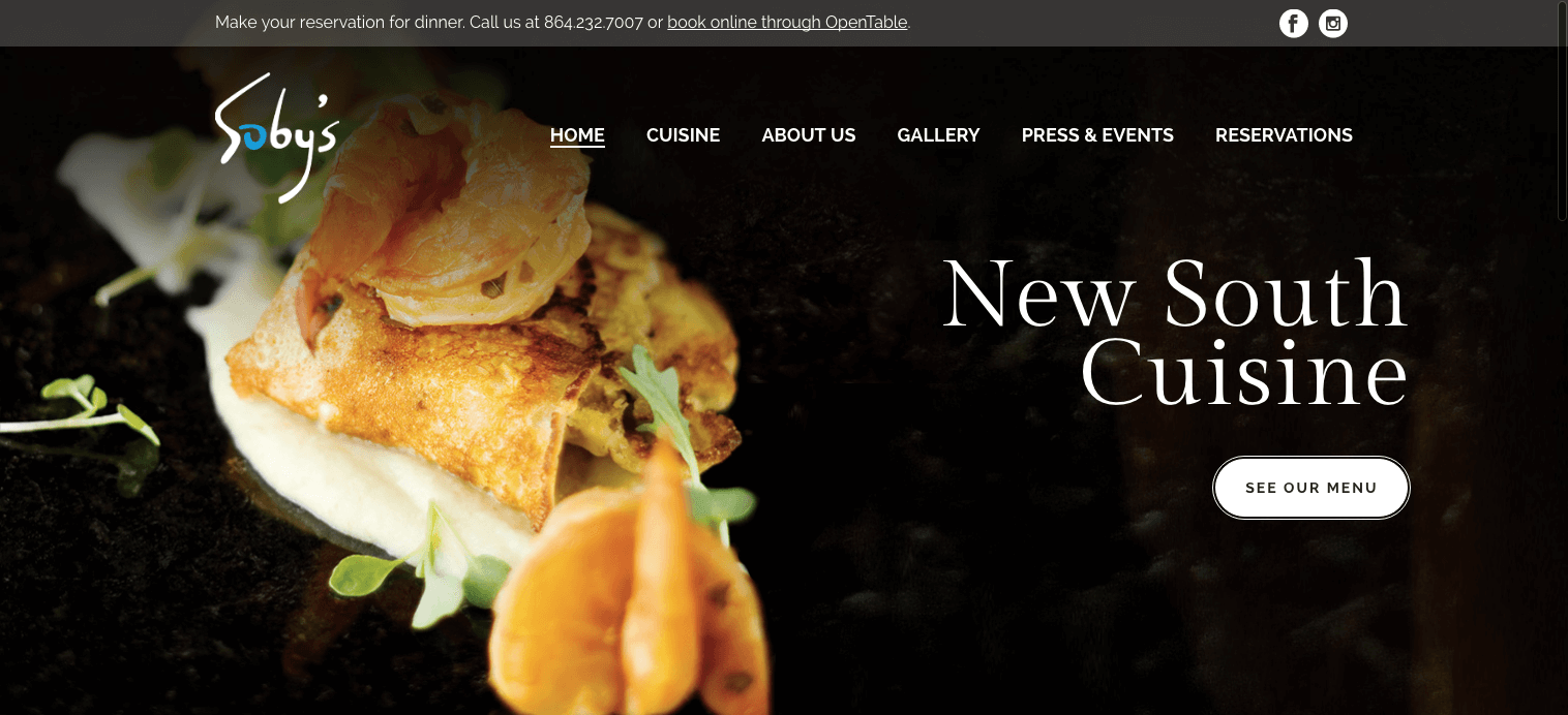 Soby's Website Redesign Completed in Time for Their 20th Anniversary