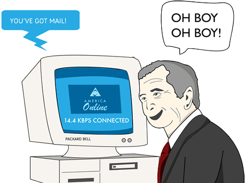 email marketing comic