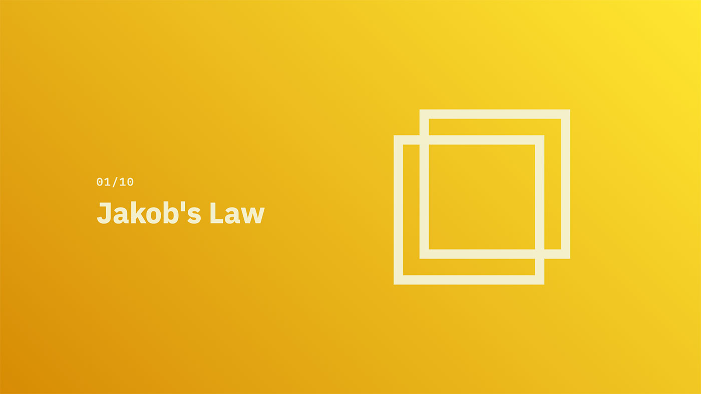 Jakob's Law - Source: lawsofux.com
