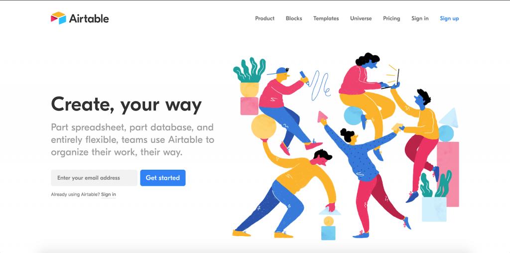 airtable web design