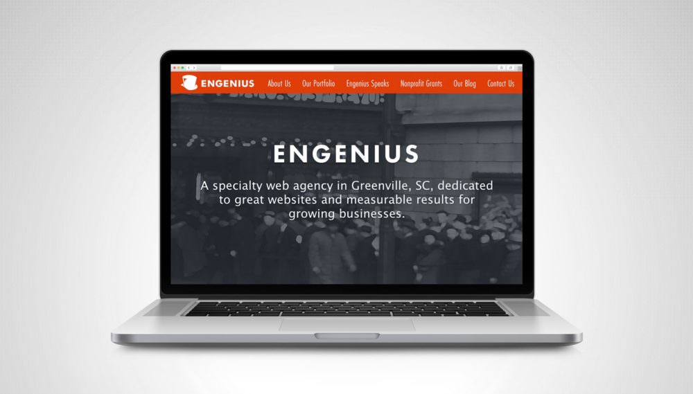 Engenius website homepage, example of how to convert website visitors into customers