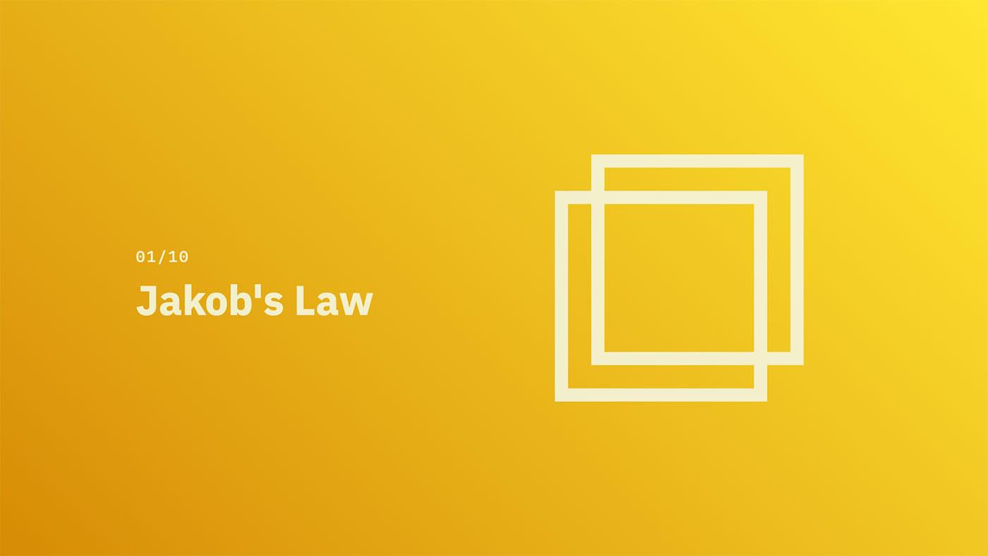 Jakob's Law - Source: lawsofux.com