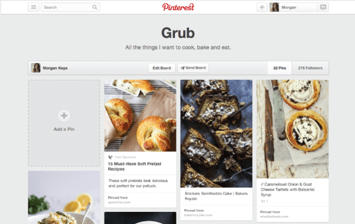web design trends Pinterest cards